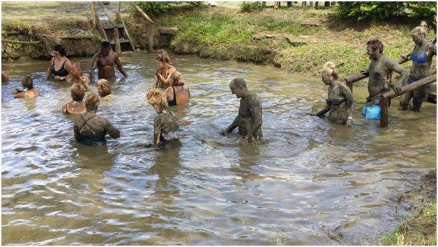Fiji's Hot Spring And Mud Pool