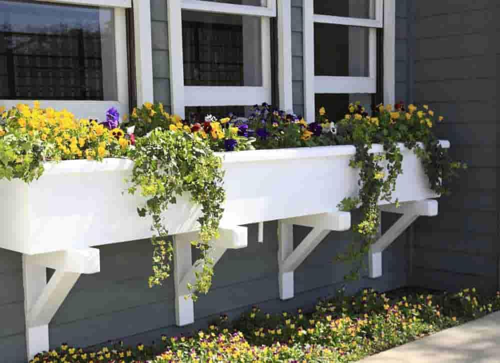 Install Window Flower Boxes-min