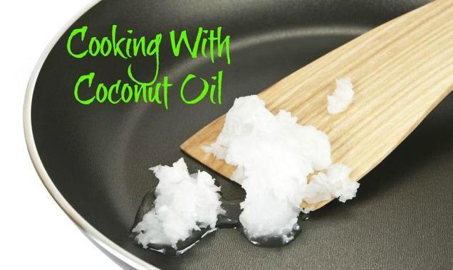 BENEFITS OF COCONUT OIL IN COOKING