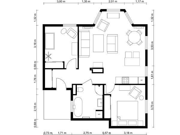 Opus floor plan
