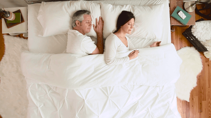 Use the Dual Air zone comforter sheet instead of the King Size Electric Blanket