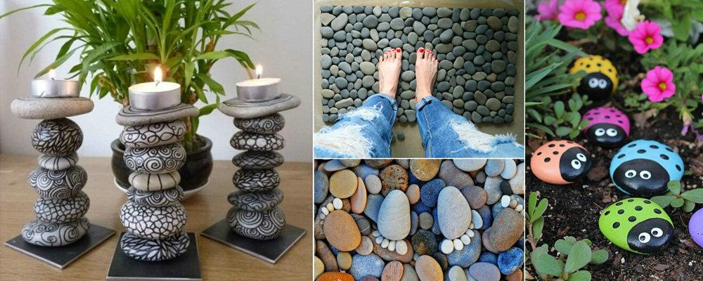 Stone craft ideas to beautify your life