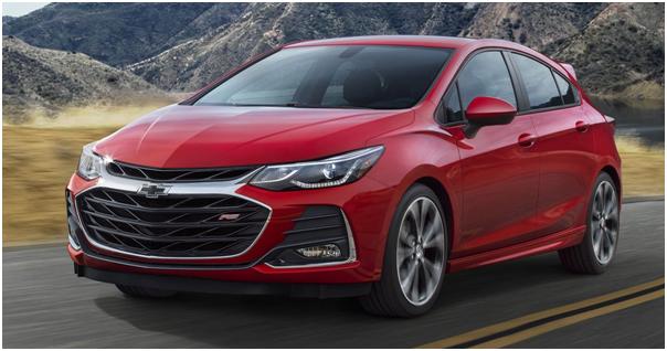 Luxury Index in the 2019 Chevrolet Cruze