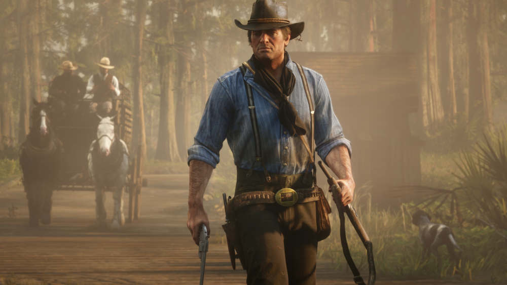 Red Lifeless Redemption 2's PC slot connections gameplay technicians to framerate, people claim