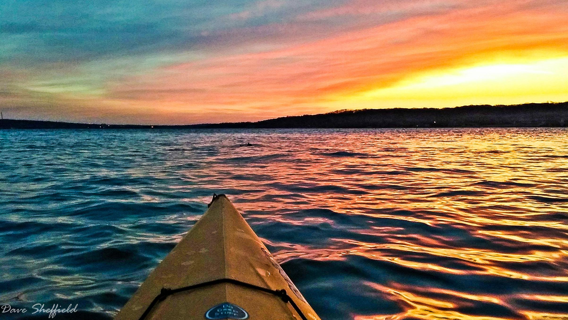 Kayaking Sunrise