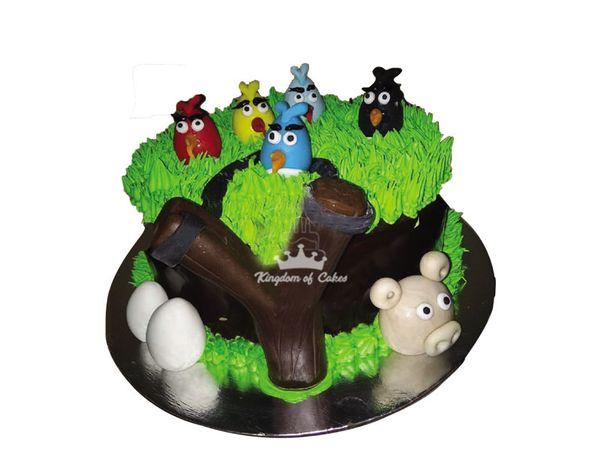 Top 8 Angry Bird Cake Design