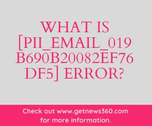 Solved [pii_email_019b690b20082ef76df5] Error?
