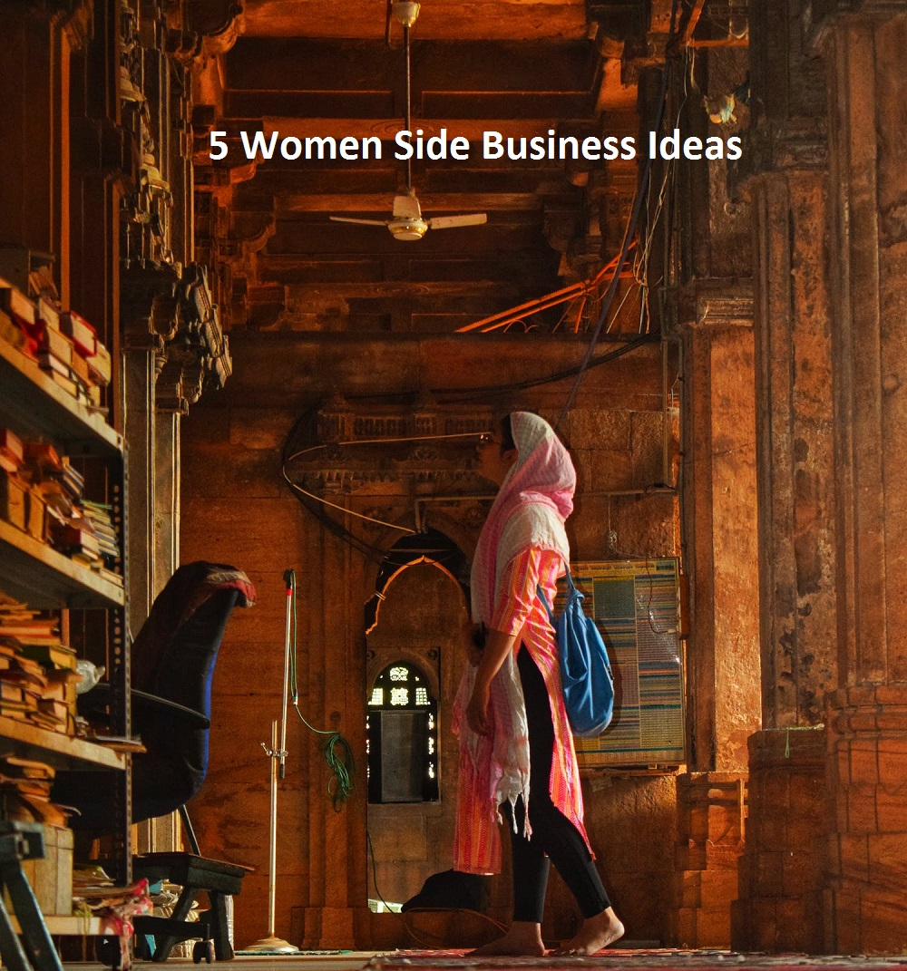 5 Women Side Business Ideas 2021