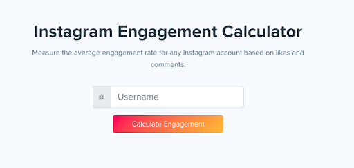 Engagement Calculator